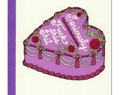 F-ck This Sh-t Cake (Anti) Valentine Card