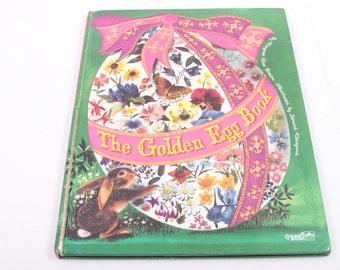 The Golden Egg Book - Vintage Children's Book - Beautiful Illustrations! - Easter ~ The Pink Room ~ 170209