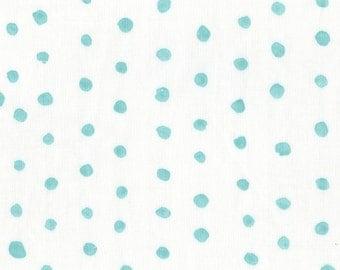 Nani Iro Kokka Japanese Fabric Pocho Basic - turquoise - 50cm