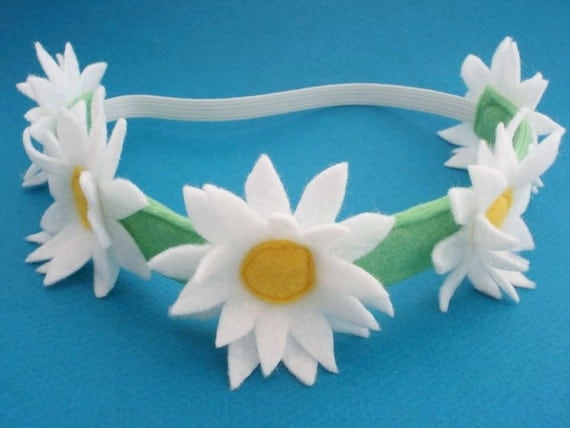 Daisy Chain Headband - Daisy Crown - Flower Crown - Floral Headband - Boho