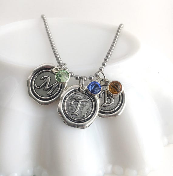 Mothers Day Birthstone Necklace - Jewelry with Kids ...