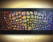 Abstract Art, Original Abstract Painting Texture Large Abstract Colorful Home Decor Modern Multicolored Palette Knife Oil Painting ~Susanna