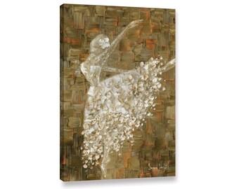Ballerina Canvas PRINT Dance Ballet Dancer Painting Print Modern Abstract Wall Art by Susanna