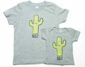 Saguaro Cactus Hug Baby Toddler Kid T-Shirt - ON SALE