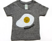 Eggsactly T-Shirt - Grey Organic Triblend