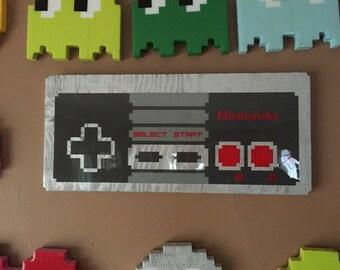 nes controller - nintendo wall art