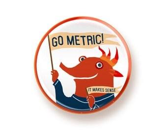 Go Metric - button