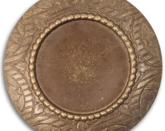 Vintaj Rosemal 42mm Bezel, Natural Brass, 1 Piece (P0008)