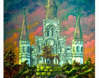 The Saint Louis Cathedral: New Orleans