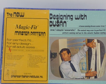SALE Pattern making AFI Magic Fit Master Box Designing with Dusan 1974 clothing sewing custom fit alterations create