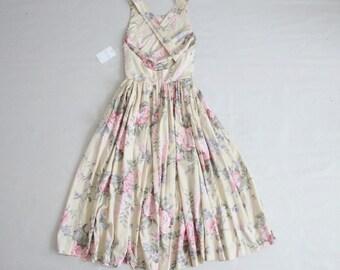 criss cross strap dress | floral sundress | yellow rose dress