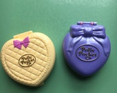 Polly Pocket Sets from 1994 and 1995, Bluebird Toys, Heart Shaped Box, 90s Toy, Vintage