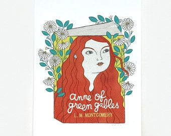 Anne Of Green Gables - Giclee Print