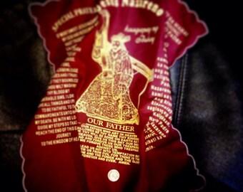 Jesus Nazareno panyo Anting Anting amulet handkerchief Black Nazarene Quiapo Philippines