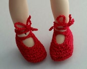 Littlefee, YOSD  Ballet Shoes Red