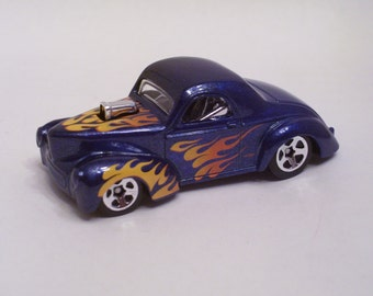 1941 Willy's Coupe : Hot Rod, Man Cave, Refrigerator, Tool Box - Magnet
