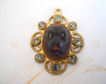 Vintage Bulldog Pendant