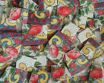 Mosaic Tiles- Petite Provence--70 Tiles