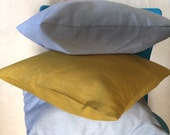 Linen Pillow Covers, Linen/Rayon Pillow Covers, Pillow Covers,Cushion Covers, Decorative Pillow Covers, Pillow Shams, Accent Pillows