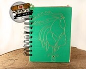 The Rooster's Antlers - Wire-Bound Recycled Art Journal