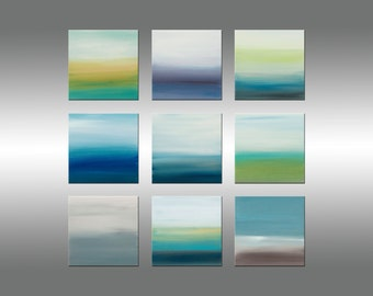 Sunrise Series Collection 3 - Art Painting Original Abstract Paintings Original Painting Canvas Art Modern Art Contemporary