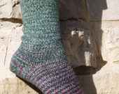 Hummingbird Gradient Stripes Matching Socks Set, 2-50g Cakes, Lavish (dyed to order)