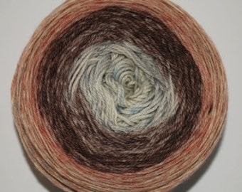 Mister Tumnus Panoramic Gradient, 100g Greatest of Ease, dyed to order