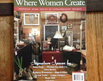 Where Women Create Magazine Winter 2013 May June July Single Issue