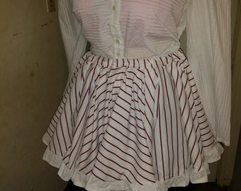 Striped Circle Skirt - CLEARANCE