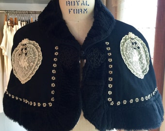 Beautiful Victorian Style capelet