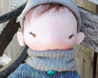 The Waldorf Inspired OOAK Little Gnome Doll Christof