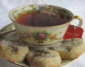 4 Dozen Chai Spice Shortbread Cookies w/Chai Glaze