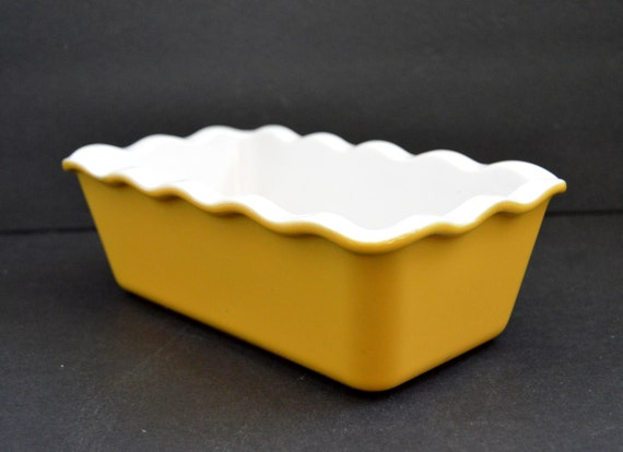Emile Henry Loaf Pan Made In France Yellow Baking Dish