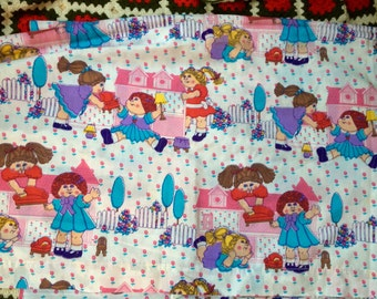 Cabbage Patch Flat Sheet