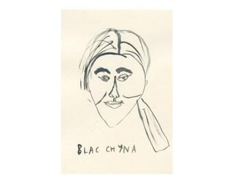 Original Portrait || BLAC CHYNA || 100failedfamousfaces