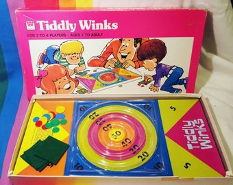 Vintage Whitman Tiddly Winks Children's Board Game