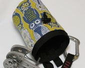 Wise Old Owl, Hand Crafted Chalk Bag and Belt, Rock Climbing