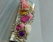 Rhinestone Bling Lighter Cover/Bohemian Gypsy Style