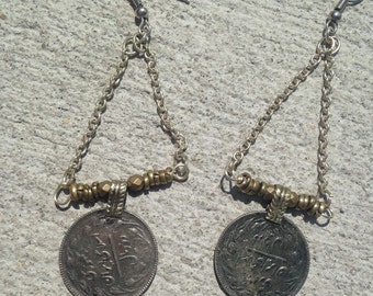 SALE Gypsy Coin Earrings