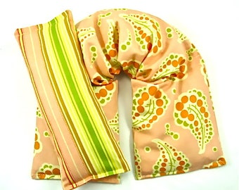 Microwave Heat Pack- Aches/Pain-Hot/Cold Therapy Organic,Relaxation- Herbal Heating Pad