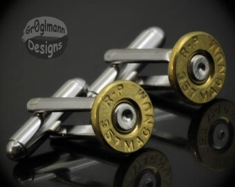 Cufflinks - Remington 357 Bullets