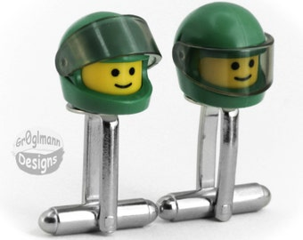 LEGO Space Cufflinks