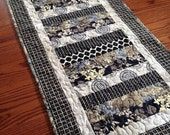Black Strip Table Runner