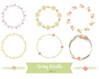 Spring Floral Wreaths
