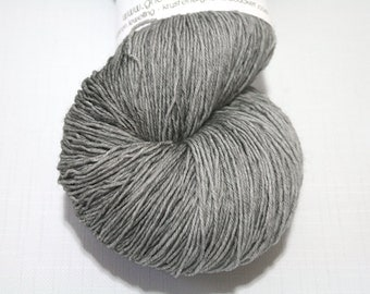 Hand Dyed Artisan Yarn, Tonal Kettle Dyed Heavy Lace Yarn, Contrast Splash SW Merino Yarn, Long Stride (750yds) - Whether