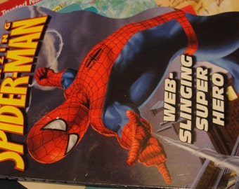 The Amazing Spider-Man Wed Slinging Super Hero Hard Back Childrens Book