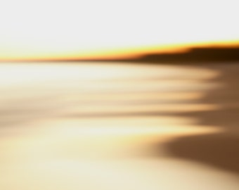 Beach Landscape Abstract Photography Art - Coastal Landscape Photography Print - Lake Huron Abstract Photo - Grand Bend Beach Photo Print