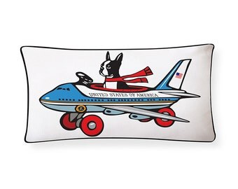 Boston Terrier for President Pillow