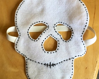 Felt Skeleton Skull Mask