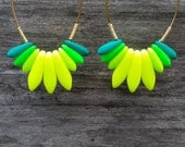 Mini Mojito & Mini rainbow SPARK earrings for Celina A.